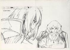 Howl skitch Howl's Moving Castle Tattoo, Howels Moving Castle, Castle Sketch, Castle Drawing, M Anime, Girls Anime, Anime Art, Ghibli Tattoo, Studio Ghibli Art