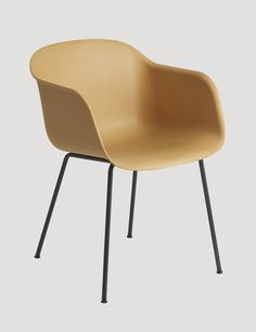 FIBER ARMCHAIR - Modern Scandinavian Design Shell Chair by Muuto - Muuto