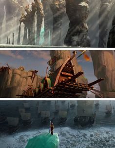 httyd2 + end credits. That scenery though TT_TT