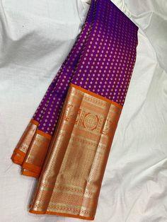 Kanjivaram Sarees Silk, Banarsi Saree, Indian Silk Sarees, Soft Silk Sarees, Pattu Sarees Wedding, Designer Sarees Wedding, Wedding Silk Saree, Pattu Saree Blouse Designs, Half Saree Designs