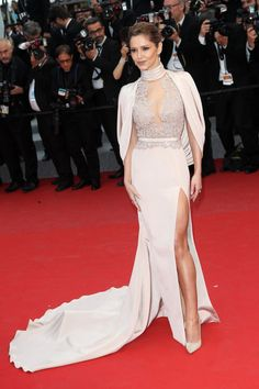 Cheryl Fernandez-Versini in Ralph & Russo. See all the best looks from the 2015 Cannes Film Festival.