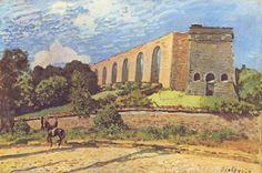 Alfred Sisley - L'Aqueduc de Marly