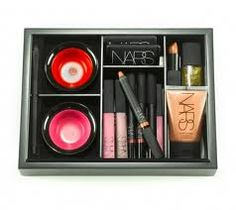 For my 13th birthday I got this kit and I loved it so much.There's 2 liquid lips and Foundation and 2 pocket lips and nail polish and eye liner and brushes...For only $50