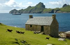 St Kilda, Scotland,always wanted to go there. England And Scotland, Scotland Uk, Scotland Travel, St Kilda Scotland, The Places Youll Go, Places To See, Orlando, Scottish Castles, Beaux Villages