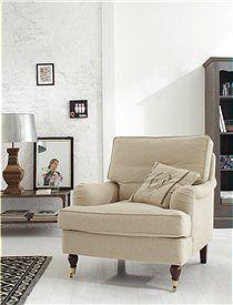 Sessel: Earl Dieser Sessel mit 61 cm Sitztiefe verspricht besten Sitzkomfort. Wir bieten ihn in zwei Farbkombinationen: grau oder sand an. Er wird fertig montiert geliefert. 649,00 Euro