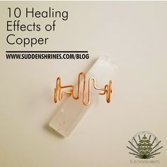 10 Healing Effects of Copper Copper Jewelry, Human Body, Health Benefits, Mineral, No Response, Healing, Number, Blog, Therapy