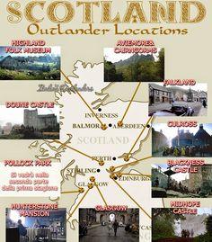 Outlander - La serie di Diana Gabaldon: I luoghi di Outlanders