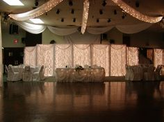 Kind of like this idea! Nice touch of light during the reception, with a semi-elegant look to it.