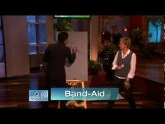 Ellen Plays Pictionary with John Stamos! He's so bad at it!!!