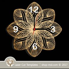 Laser cut wall clock / coaster templates, buy online now, free vector designs every day. Clock Template, Scroll Saw Patterns, Vector File, Coaster Set, Vector Design, Laser Cutting, Free Design, Artsy, Templates