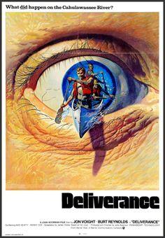 'Deliverance' - 1972 film poster