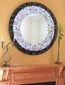 How to Make a Mosaic Mirror