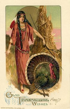 Vintage Thanksgiving Blessings   Vintage Thanksgiving Postcard c. 1912 by John Winsch
