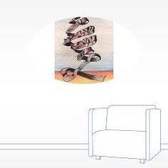 Ribbon Wall Sticker > J.P.Gray Artwork Emporium