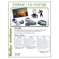 Français Rallye écriture monde du futur