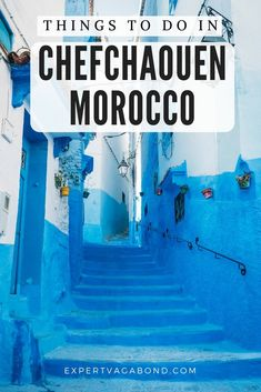 Welcome to Chefchaouen, the blue city of Morocco. It's famous for all the houses and shops painted different shades of blue. A magical place to get lost in with your camera! Morocco Destinations, Travel Destinations, Morocco Travel, Africa Travel, Travel Guides, Travel Tips, Travel Plan, Travel Advise, Free Travel