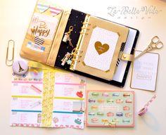 2015 Planner Setup Dividers La Bella Vida Design Mint Kikki K Limited Edition Gold Kikki K Planner