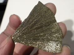 Pyrite Sun Section. $5.00, via Etsy.