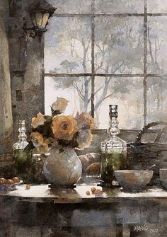 пейзажи художника Huang Hsiao-Hu -07