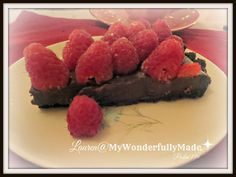 """Wonderfully Made"": Chocolate Raspberry Tart"