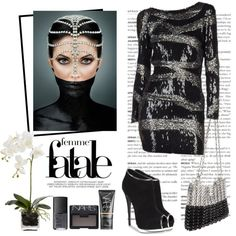 on salza by Polyvore Mujer Fatale Femme qUFfvv