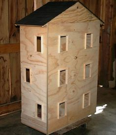 DIY doll house- I really want to build this for my little sister for Christmas