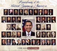 Are All But One US Presidents Related?   >   Barak Obama is in with the group   >   We are all related somehow...