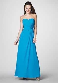 The perfect color to compliment my Ice Blue Wedding Gown. My bridesmaids gowns are designed by Alfred Angelo.