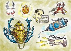 bioshock tattoo - Google Search