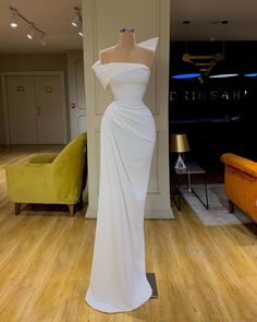White evening dresses simple mermaid elegant cheap formal dresses CR 7874 - You are in the right place about Formelle kleider Here we offer you the most beautiful pictures ab - Cheap Formal Dresses, Elegant Dresses For Women, Glam Dresses, Event Dresses, Pretty Dresses, Strapless Dress Formal, Beautiful Dresses, Fashion Dresses, Sexy Dresses