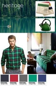 Pantone 2013 Color of the Year: Emerald - Heritage Palette