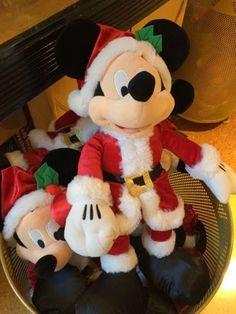Santa Mickey, Mickey Mouse, Disney Christmas 2014