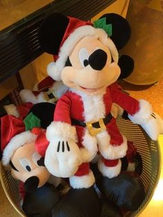 Santa Mickey, Mickey Mouse, Disney Christmas 2014