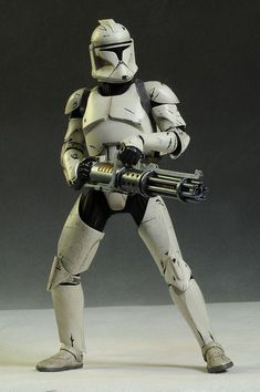 Star Wars sixth scale Clone Trooper action figures - Star Wars Clones - Ideas of Star Wars Clones - Clone Trooper deluxe Star Wars sixth scale action figure by Sideshow Collectibles Star Wars Rebels, Rpg Star Wars, Star Wars Ships, Star Wars Toys, Star Wars Humor, Star Wars Clone Wars, Star Trek, Star Wars Clones, Images Star Wars