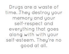 Kurt Cobain-drugs are bad