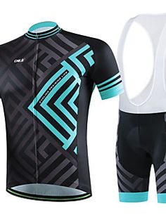 Men's Summer Professional Cycling Black Shirt Bicycle Breath... – USD $ 56.99
