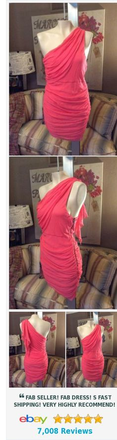 Alice + Olivia Coral Rayon One Shoulder Dress Size Small Petite | eBay http://www.ebay.com/itm/Alice-Olivia-Coral-Rayon-One-Shoulder-Dress-Size-Small-Petite-/222557089534?ssPageName=STRK:MESE:IT