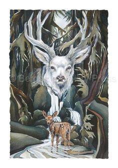 jody bergsma prints | Bergsma Gallery Press :: Products :: Art Cards :: Hooved Animals ...