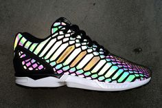 The Adidas Originals ZX Flux Sneaker Introduces a New Material #sneakers #shoes trendhunter.com