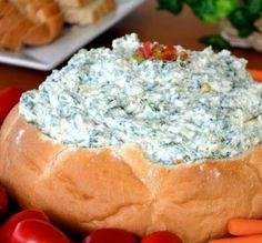 """Light Spinach Dip: """"Great classic spinach dip! Tastes terrific even with the reduced fat products. I'll make this often!"""" -Michelle S"""