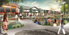 A phased mixed-use development of the former Raytheon site in Sudbury, Massachusetts, this project features a new 35,000-square-foot shopping center, along with age-restricted, active-adult housing and a living/memory care facility.