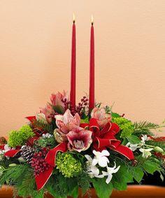 Christmas Orchid Centerpiece - Mission Viejo Florist