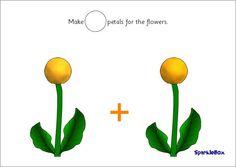 Maths Playdough Activity Mats for Early Years Flower Petals, Flowers, Playdough Activities, Activity Mat, Green Box, Creative Art, Maths, Figurative, Mathematics