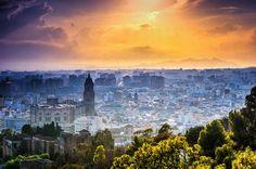 Vista de Málaga - Fotografía por Steven Gerner