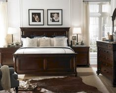 Stunning Dark Wood Bedroom Furniture Ideas 45