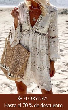 Casual Fall Outfits You'll Want To Copy This Year, Fall outfits ideas, fall outfits for women, cute fall outfits, fall outfits. Casual Fall Outfits, Chic Outfits, Casual Dresses, Girls Dresses, Women's Fashion Dresses, Boho Fashion, Womens Fashion, Mode Hippie, French Outfit