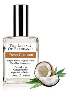 Fresh Coconut Cologne – Extraordinary scent & perfume from The Library of Fragrance – The Library of Fragrance