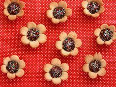 Bolachas de flor