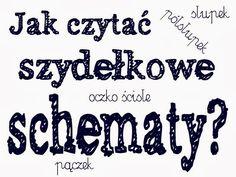 Kasiulkowe prace szydełkowe: Czwartkowe porady kasiulkowe ---> jak czytać schematy? cz. 1 (aż 8 przykładów)