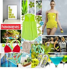 """""""Create #instantjoy with Havaianas"""" by bamaannie ❤ liked on Polyvore"""